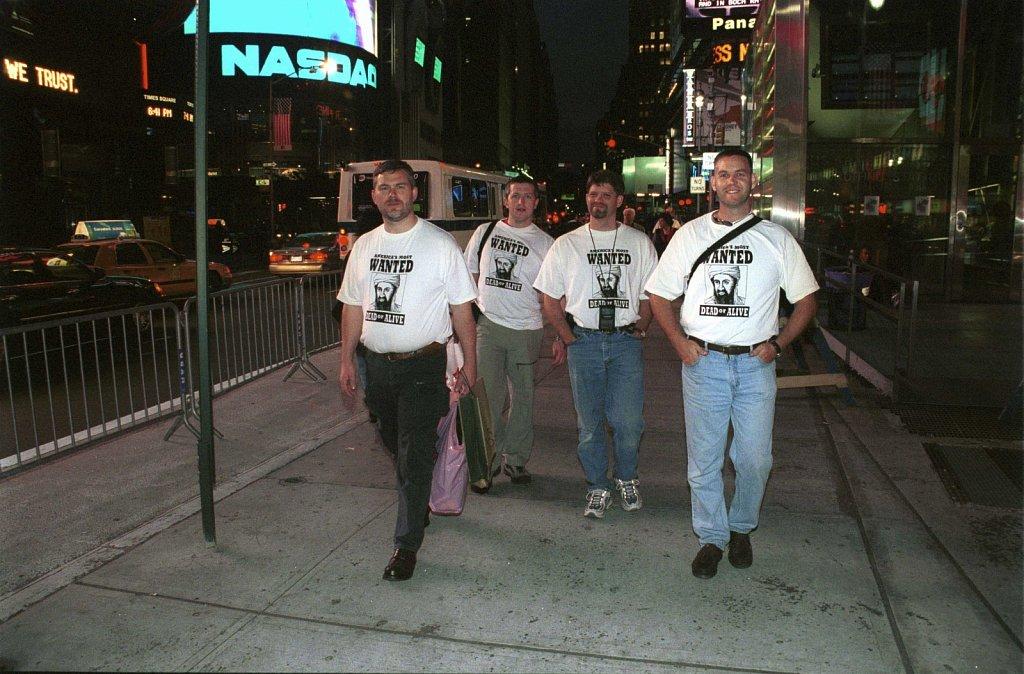 Bin Laden en Times Square