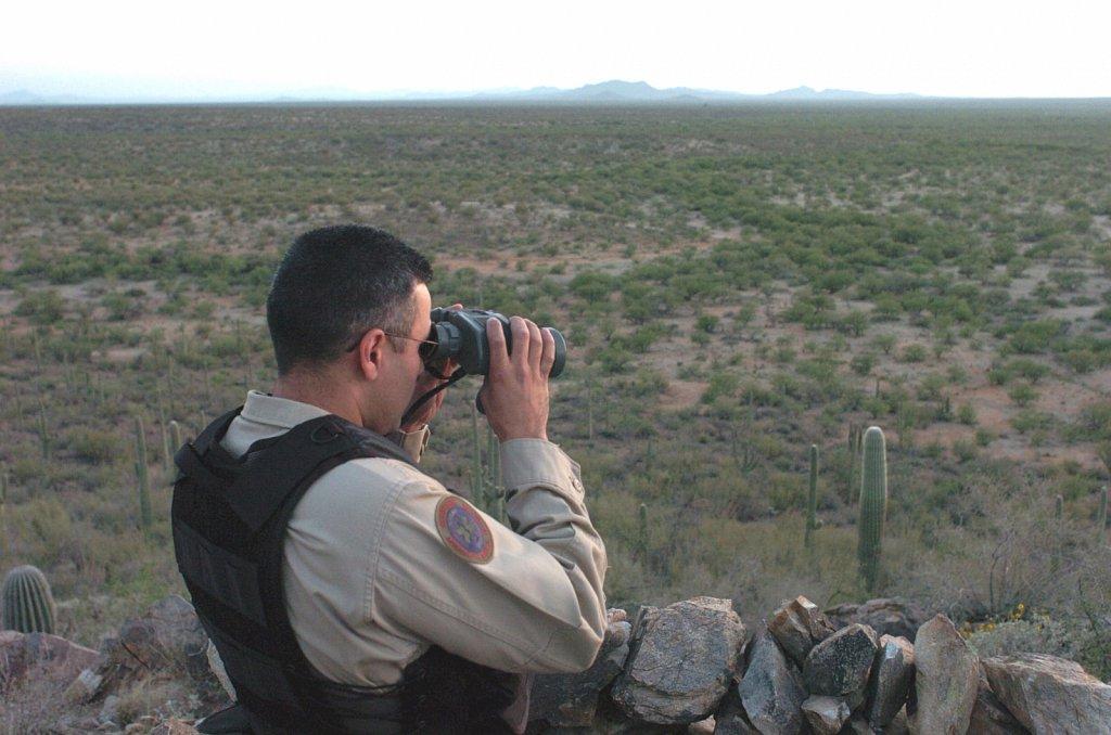 Vigilando la frontera