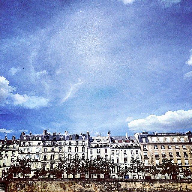 Buhardillas sobre el Sena. #parís