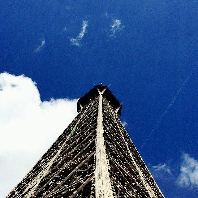 Nubes sobre la Torre.