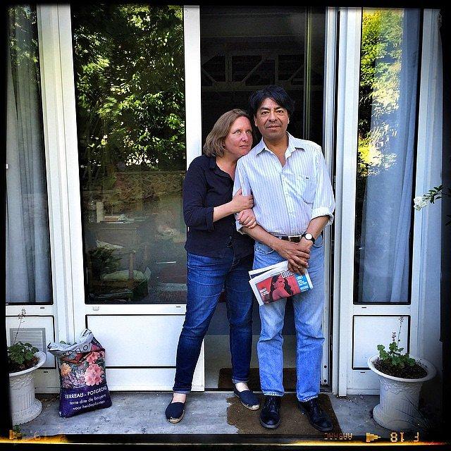 Alberto y Fanny mis amigos del alma en París. #parís