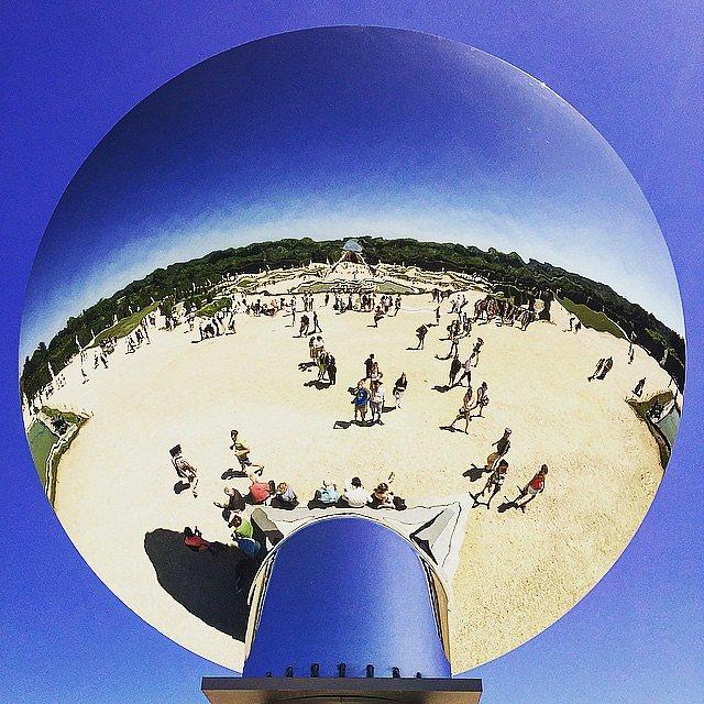 Autorretrato en Versalles. #parís
