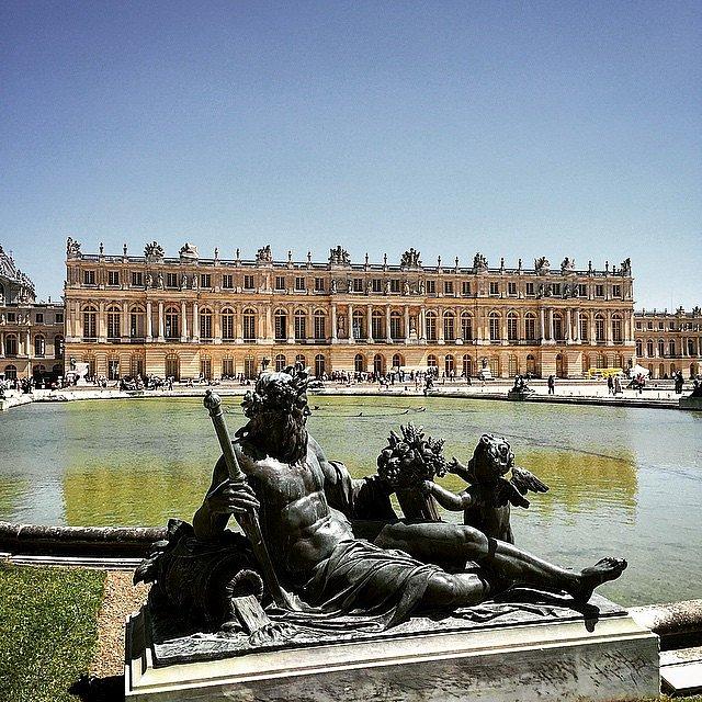 Así las cosas por Versalles. #parís