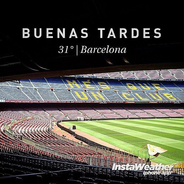 Un Templo de Campeones. #Barcelona #Barça