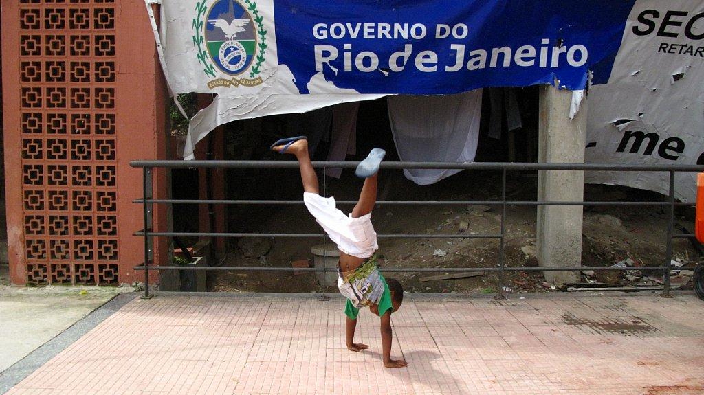 Bienvenidos a la Favela de Santa Marta
