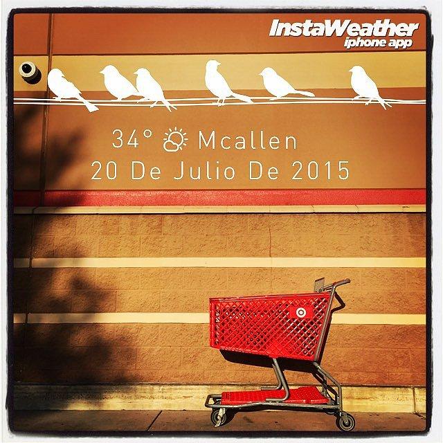 En tierra texana. Made with @instaweatherpro Free App! #instaweather #instaweatherpro #weather #wx #mcallen #mcallen #day #summer #tx