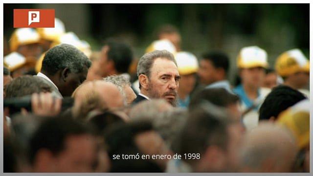 Fidel Castro, La Plaza de la Revolución y el Papa / Memoria 003